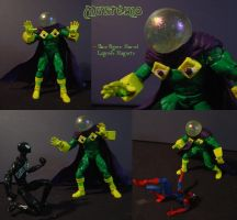 Mysterio custom figure by DJ-Glass