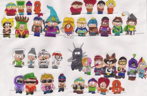 South Park Style :D! by Angeliiu