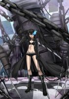 Black Rock Shooter by darkmaya1