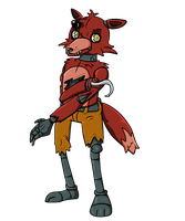 Shiver me timbers it's Foxy by KuluKnightofDarkness