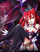 [Elsword] Karis the Succubus Queen by ClairSH