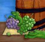 Grapes by alicelights