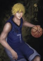 Kise Ryouta (Full body) by leon118