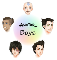 avatar boys by AireensColor