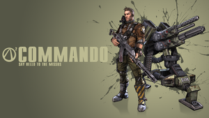 Borderlands 2 Commando Wallpaper by CodyAWilliams