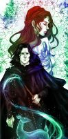 Severus and Lily by AlcoholicRattleSnake