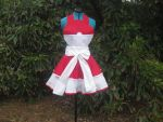 Pokeball Apron Pinafore Cosplay by DarlingArmy