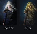 Warrior before and after by Shann2j