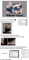 Wallpaper tutorial. by Spenne