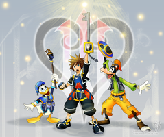 Kingdom Hearts 3 Announced! by SolMatter