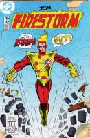 Firestorm by strawmancomics