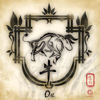 Chinese Zodiac : Ox by MPtribe
