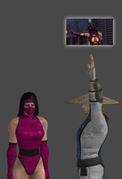 Mileena is disappointed by Simony17y