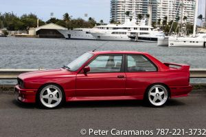 E30 M3 BMW by the Water 2 by Caramanos2000