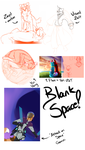 -Personal Art- WIPS by Spottedfire23