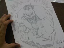 BCC 2010 HULK sketch by RyanOttley
