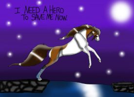 I Need A Hero. by AnnMartini