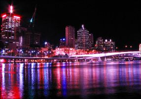 The Colours of Brisbane IV by NyssaCreative