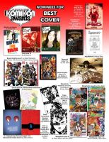 KA2009 Best Cover Nominees by komikon
