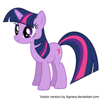 Twilight. Vector request for ponycountdown.com by Agnara