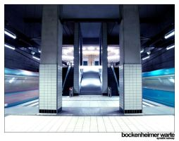 symetric subway II by immitationoflife