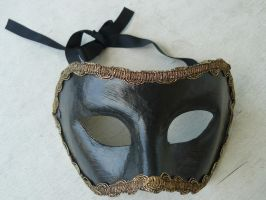 black mask stock 2 by Mihraystock