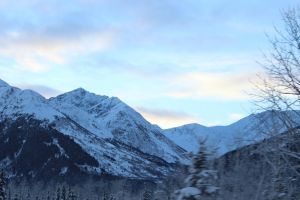 Alaska Mountains 4 by xdancingintherain