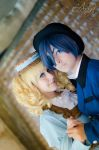 Blue Romance- Ciel and Lizzy by SunshineAlways