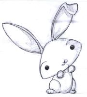 -QQ- cute rabbit by kageki