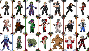 Batman Villains by 8bitattorney
