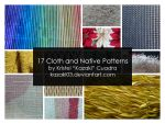 17 Cloth and Native Patterns by kazaki03