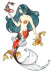 Koi mermaid by Maryanneleslie