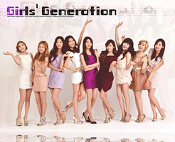 Girls' Generation Edited Wallpaper by SNSDLoveSNSD
