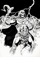 Skeletor by jasonbaroody