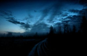 alone on the road ... by KariLiimatainen