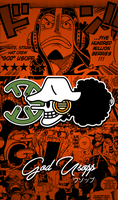 One Piece Wallpapers Mobile : New World , Usopp by Fadil089665