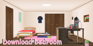 New bedroom DL by ShootingStarBlue