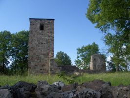church ruins 3 by whoosh-stock