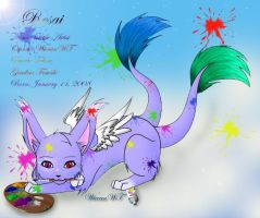 FR : Little Artist by WiccanWT