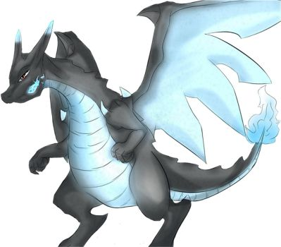 Mega Charizard By A Project by StenderExceed