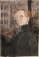 Grey Days (Schjerfbeck variation) by Vippu