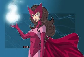 Scarlett Witch by AZNbebop