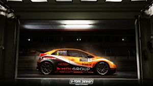 Honda Civic WTCC by x-tomi