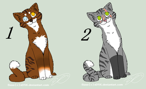 Cat Adoptables by BlackWolf1112-ADOPTS