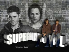 SPN 3D Wallpaper by macfran