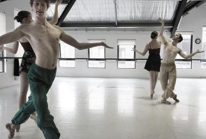 Ballet Rehearsal, Males. by lawrencew