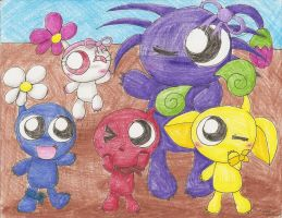 The Pikmin by Chenanigans