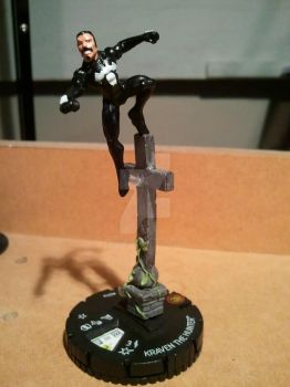Kraven the Hunter Heroclix mod by avatarswish