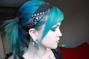 Blue Up-do's by CupCakeMonsterCrafts