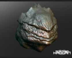 Detailed Krogan exhibit A by thedarkcloak